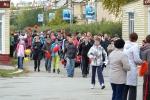 Открытие малых олимпийских игр 26 школы на площади