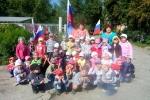 День российского флага - 2013 в первомайских садиках. Фото_12