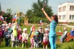 День российского флага - 2013 в первомайских садиках. Фото_3