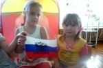 День российского флага - 2013 в первомайских садиках. Фото_8