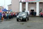 Перетягивание автомобилей детьми в День строителя. Фото_6
