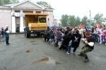 Перетягивание Белаза в День строителя - 2013. Фото_12