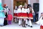 Торжественное открытие новогодней ёлки на площади