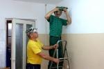Подготовка общежития ПТПСМ для беженцев с Украины