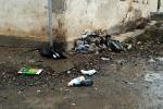 Свалки мусора в подъезде жилого дома
