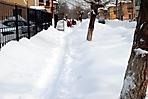 После обильного снегопада